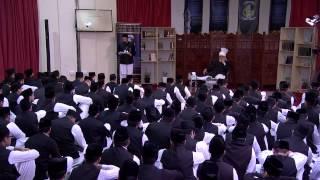 Le Calife s'adresse aux élèves de la Jamia - 29 Mars 2015