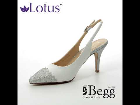 07bacc5392 Lotus Arlind White multi high-heeled shoes - YouTube
