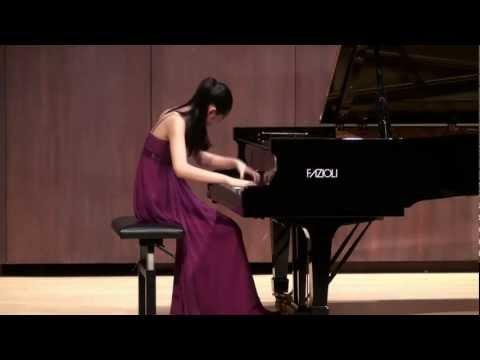 Tiffany Poon plays Ravel Jeux d'eau