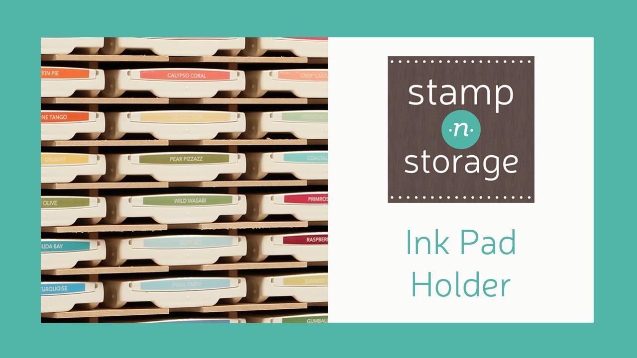 Stamp N Storage Ink Pad Holder