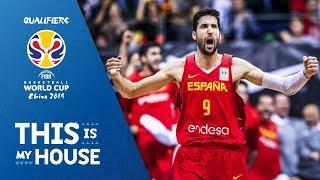 Spain v Slovenia - Full Game - FIBA Basketball World Cup 2019 - European Qualifiers