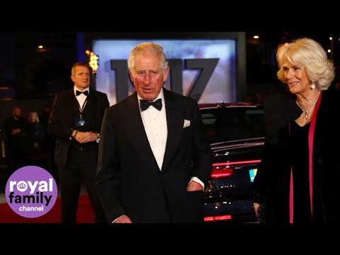 prince-charles-and-camilla-attend-premiere-of-'1917'-in-london