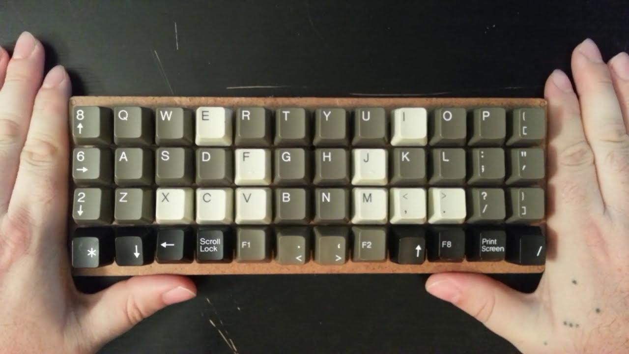 Tiny Keyboards: An Explanation