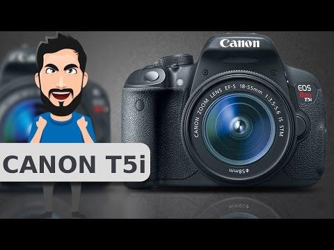 Canon Rebel T5i Unboxing - Nova Câmera do canal!