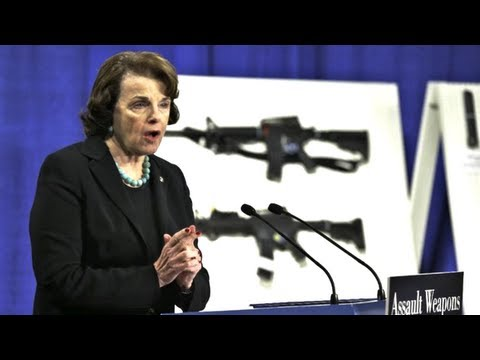 Assault Weapons Ban of 2013 Explained By Diane Feinstein