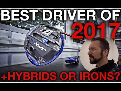 BEST DRIVER OF 2017 + Hybrids vs Irons - Finch Friday