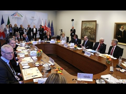 Что обсуждали на встрече «Большой семёрки» в Любеке (новости)