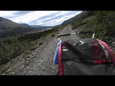 Alsek River Trail by bike