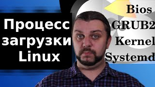 Процесс загрузки Linux. Systemd, Kernel,  GRUB2, Bios