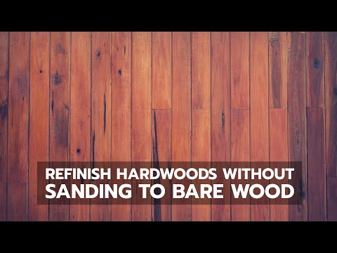 How to Refinish Hardwood Flooring Without Sanding Back to Bare Wood