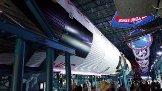 The kennedy space center visitor complex is at nasa's in florida. it features exhibits and displays, historic spacecr...
