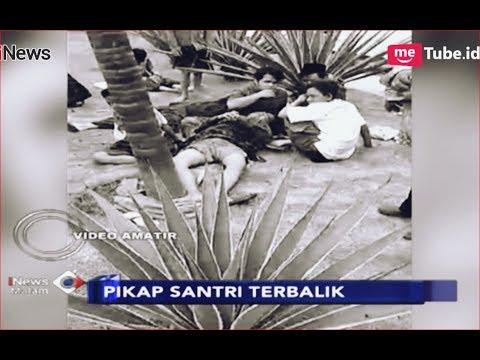 Kronologi Kecelakaan Maut Pikap Rombongan Santri Terbalik di Flyover Cipondoh -  iNews Malam 25/11 Mp3