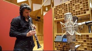 "Kolsimcha recording ""Pas De Deux"" featuring Slava Cernavca (clarinet)"