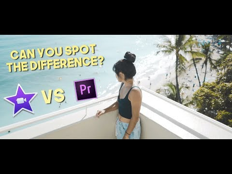 Download Youtube: Editing a Cinematic Sequence in iMovie vs. Premiere Pro