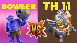 Bowler Attack Strategy vs TH11. Dark Elx 6000. BWL EXPL11. Nemo 3SAS