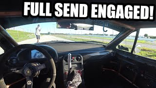 homepage tile video photo for Freestyle Drift POV at Burnout Rivals! and Drifting with Donie The C5!! Freedom Factory FULL SEND!