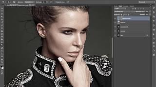 Онлайн-урок по ретуши портрета (Дмитрий Фокс)