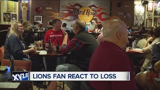 Lions fans react to loss