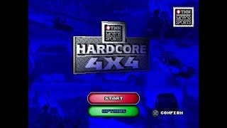 PSX Longplay [528] TNN Motor Sports   Hardcore 4x4
