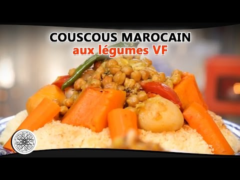 choumicha-:-recette-de-couscous-marocain-aux-légumes-(vf)---moroccan-couscous---كسكس-مغربي