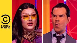 Jimmy Carr Gets His Very Own Drag Name | Your Face Or Mine