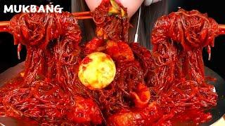 해주냉면 먹방 광어회 듬뿍올려서 레알 회냉면🔥🔥🔥spicy cold noodles challenge🔥
