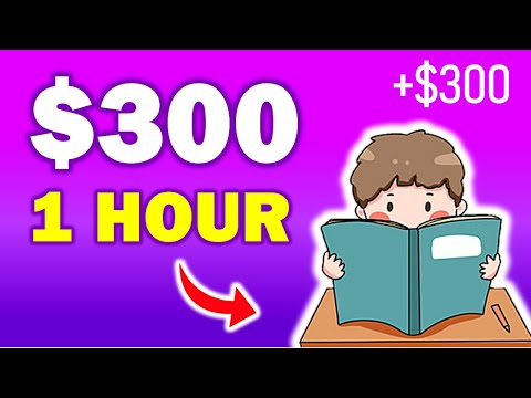 Read 1 Book Online = Earn $300 (Read 10 Books = $3,000) FREE Make Money Online | Branson Tay