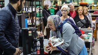 Australia introduces 'elderly hour' in supermarkets during coronavirus panic