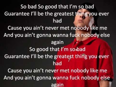 Eminem - So Bad (Lyrics On Screen)