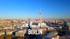 BERLIN by drone [4K] 2020 GERMANY DEUTSCHLAND Drohne aerial