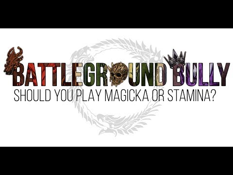 Should You Play Magicka or Stamina in The Elder Scrolls Online?
