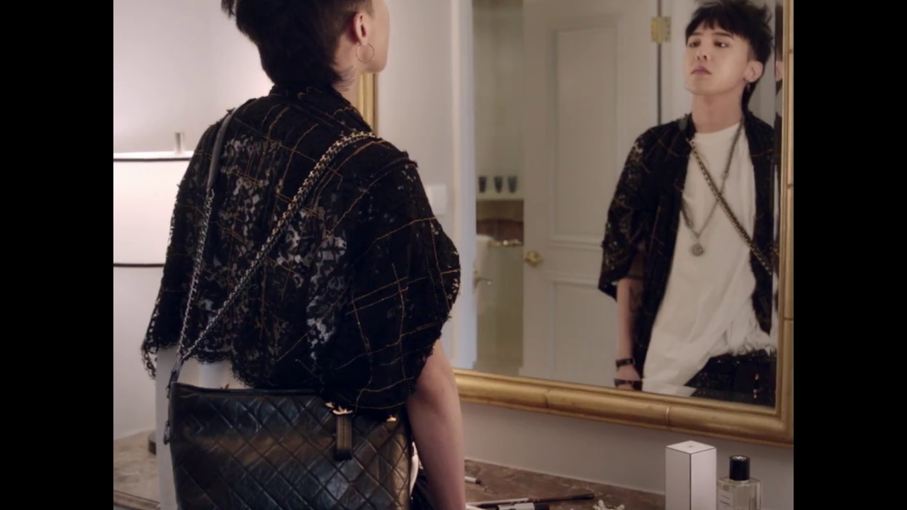 db124ae85680 CHANEL's GABRIELLE bag campaign featuring G-Dragon - YouTube