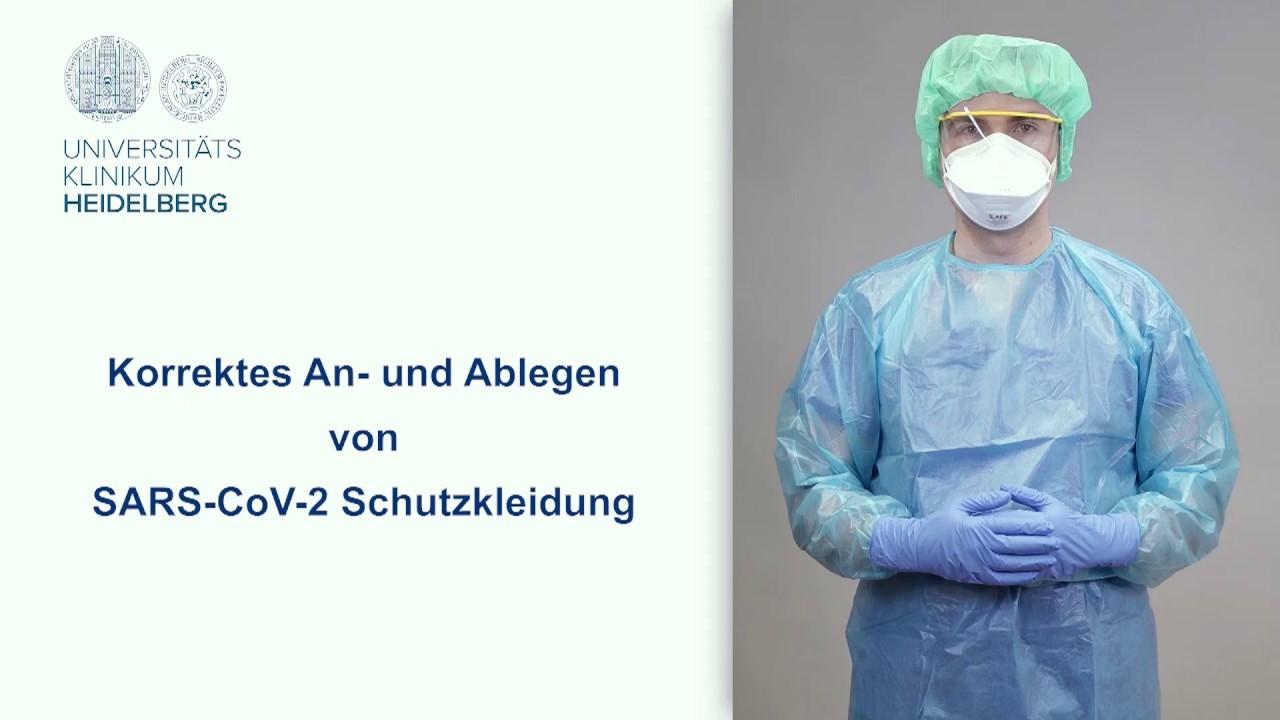 Надевание и снятие защитной одежды SARS-CoV-2