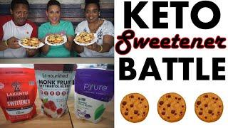 Keto Sweetener Battle | Chocolate Chip Cookies | Lakanto | Pyure | SoNourished
