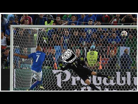 Simone Zaza  II Penalty Shot Out Fail Elfmeter Krimi II Germany vs. Italy II Fail EM 2016 Funny Clip