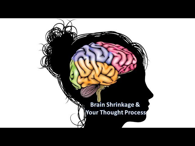 Brain Shrinkage & Your Thought Process