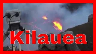 Kilauea Volcanic Eruption