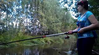 Summer silence fishing