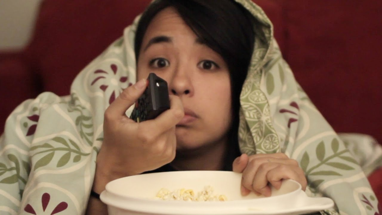 crazy things you do after watching a scary movie youtube