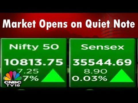 Market Opens on Quiet Note After Karnataka Exit Polls | Bazaar Open Exchange (Part 2) | CNBC TV18