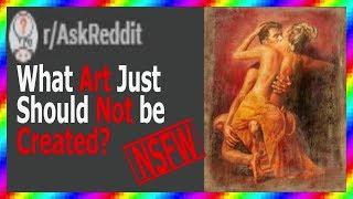 الفنانين تكشف عن اللجان التي كانت أيضا NSFW لإنشاء! (ص/AskReddit)