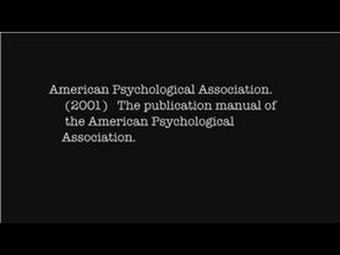 research papers how to cite the apa manual in apa format youtube rh youtube com citing a lab manual in apa how to cite a manual in apa 6th edition