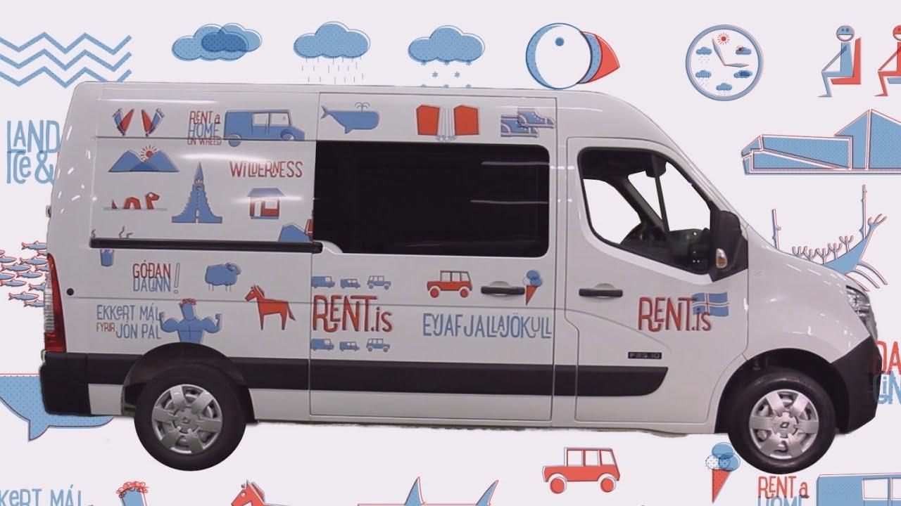 camper van rental iceland - rent is - youtube