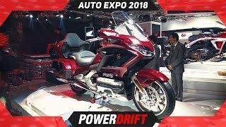 Honda Goldwing @ Auto Expo 2018 : PowerDrift