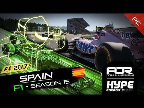 F1 2017 | AOR Hype Energy F1 League | PC | S15 | R5: Spanish GP