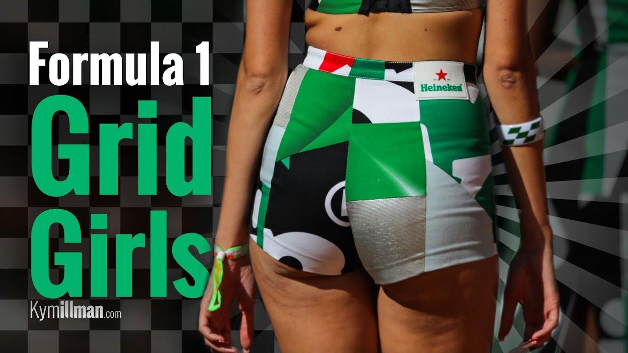 Formula One Grid Girls Youtube