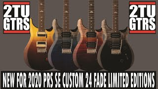PRS Specials Fade Limited Editions