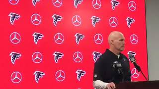 Falcons vs Rams Coach Dan Quinn post game Press Conference
