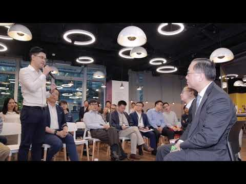 A dialogue with the Secretary for Innovation and Technology