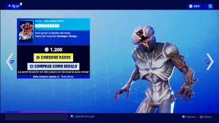 THE *NEW STORE* OF FORTNITE TODAY JULY 5 *NEW SKIN* OF DEMOGORGON OF *STRANGERS THINGS* ❤️